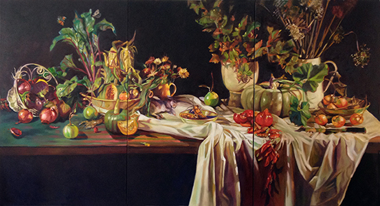 ROSEMARY VALADON, Rosemary's Garden Autumn Harvest, 2014. Courtesy of the artist