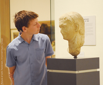 boy with bust